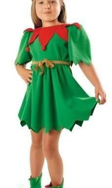 strój elf sukienka