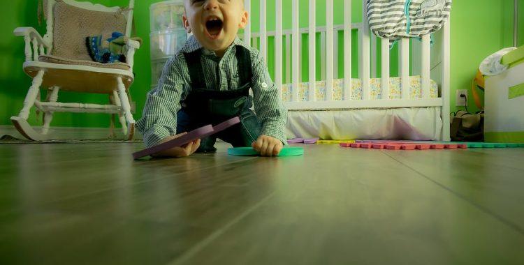 dziecięcy pokoik gustownie urządzony